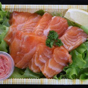 salmon-sashimi box